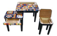 tavolini intarsiati